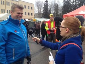 Kandidat Patrik Karlsson i intervju med MTV
