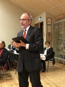 Europaparlamentariker Nils Torvalds